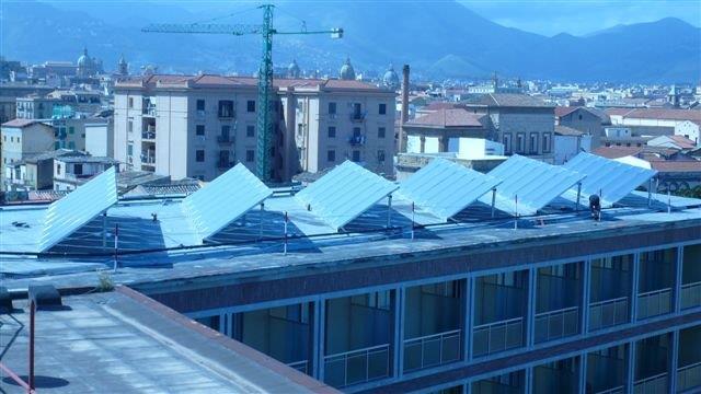 Solare termico albergo di palermo