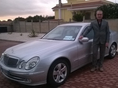 noleggio con conducente Aprilia Roma