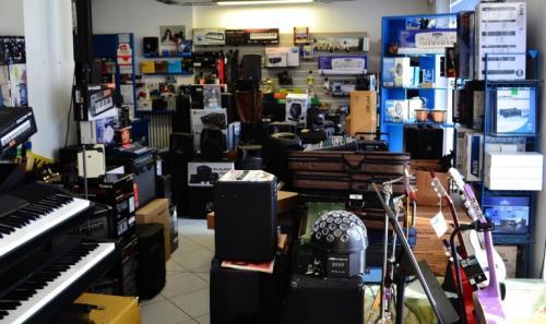 negozio di strumenti musicali Macerata