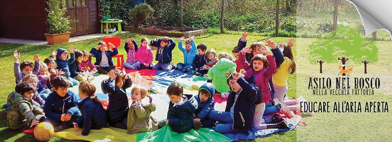 scuola materna asilo nel bosco Roma nord