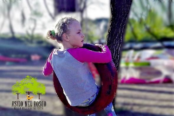 Asilo nel bosco biligue roma