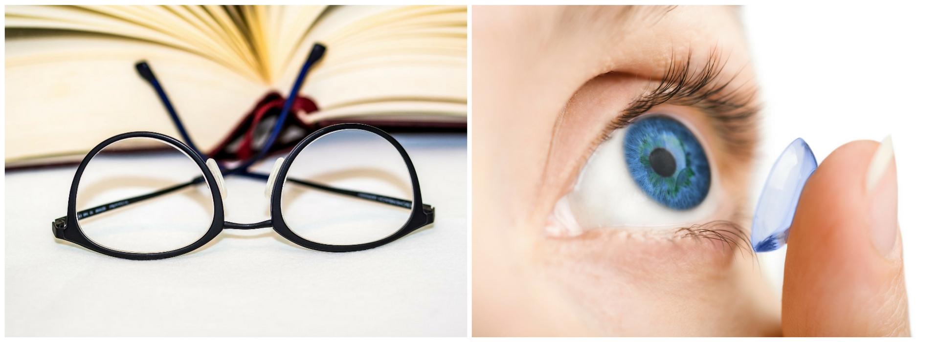 montature occhiali e lenti a contatto