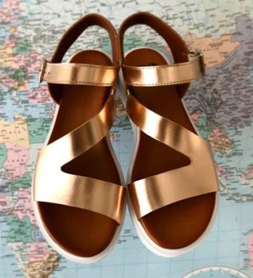 Sandali  gold Calzaturificio B2