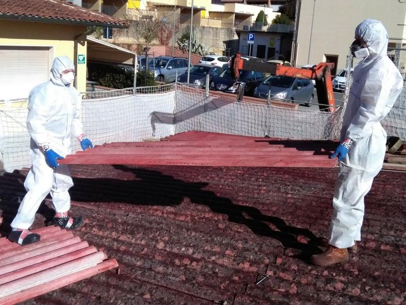 smaltimento amianto Arezzo