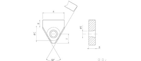 Sondereinsätze Drehmaschine 1-Loch
