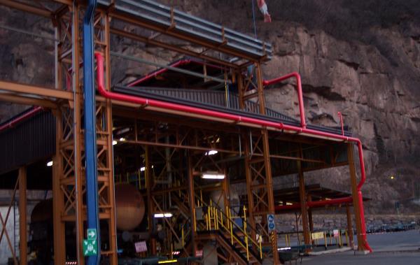 costruzione impianti industriali