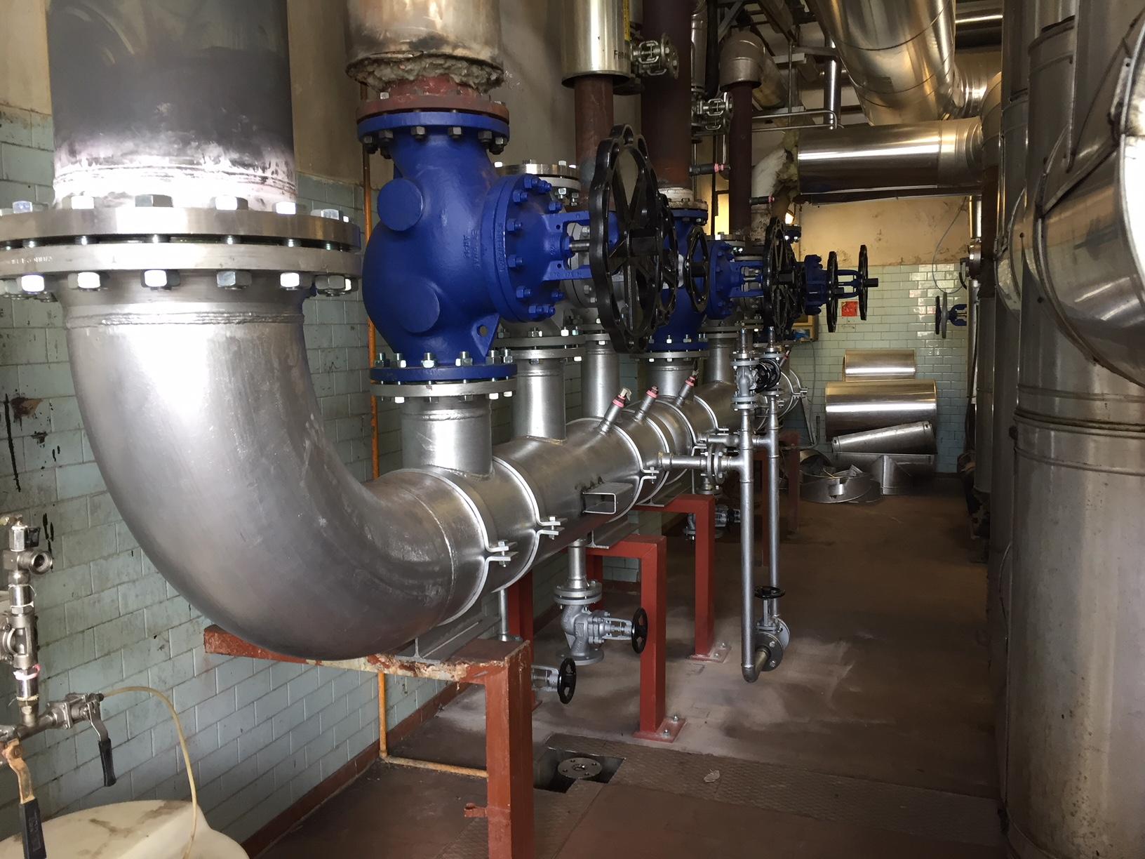 realizzazione impianto industriale