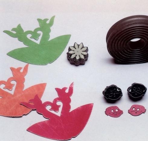 Fustelle per decorazioni speciali di vario tipo a Petriolo