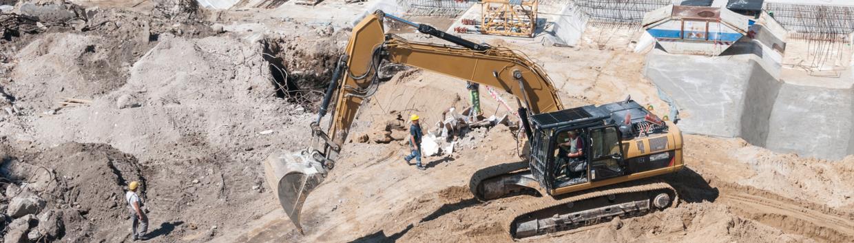 scavi per realizzazione fondamenta