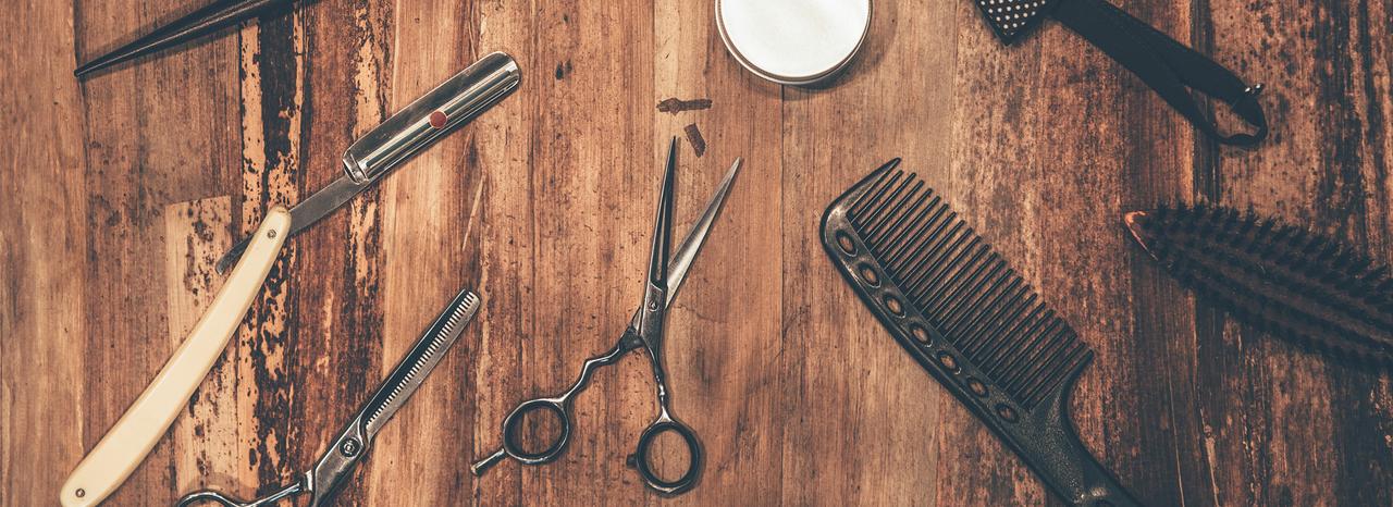 Forbici pettine barbiere Firenze