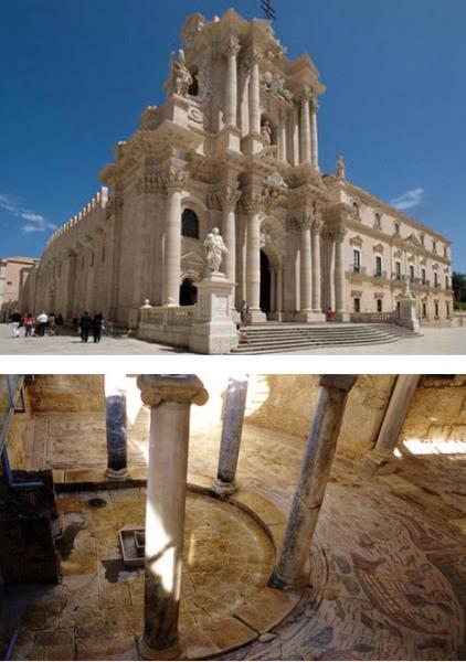 Duomo Siracusa e Mosaici P.Armerina
