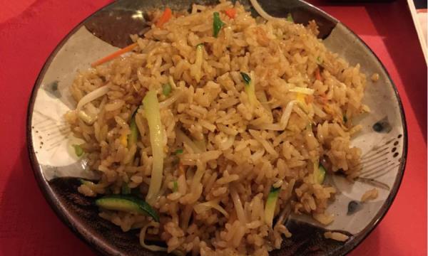 Riso cantonese cucina giapponese