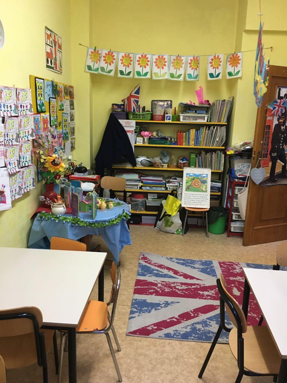 scuola infanzia in inglese Marino Roma