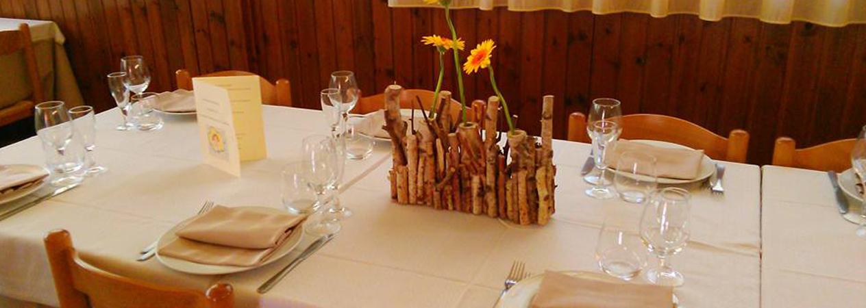 Dolce su ristorante Petronius