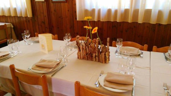 Il ristorante Petronius a Macerta