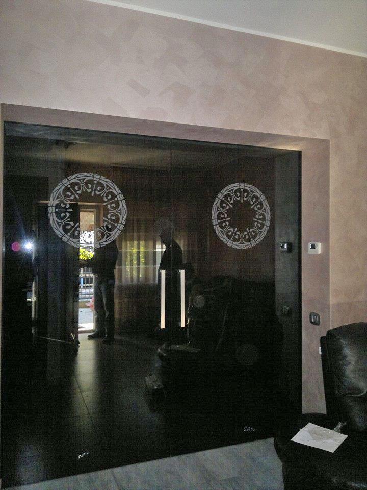 porte in vetro macerata
