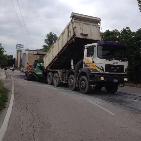 asfaltatura di strade treviso