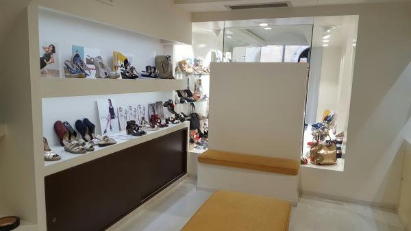 Negozio di scarpe a Città di castello