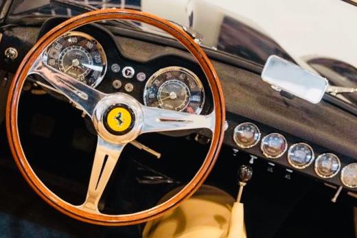 Vintage car restoration pistoia