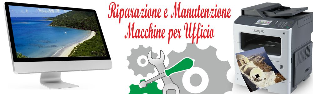 riparazione macchine ufficio Castelvetrano TP