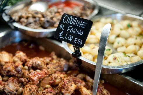 Cipolline al forno Ristorante Da Pinzo