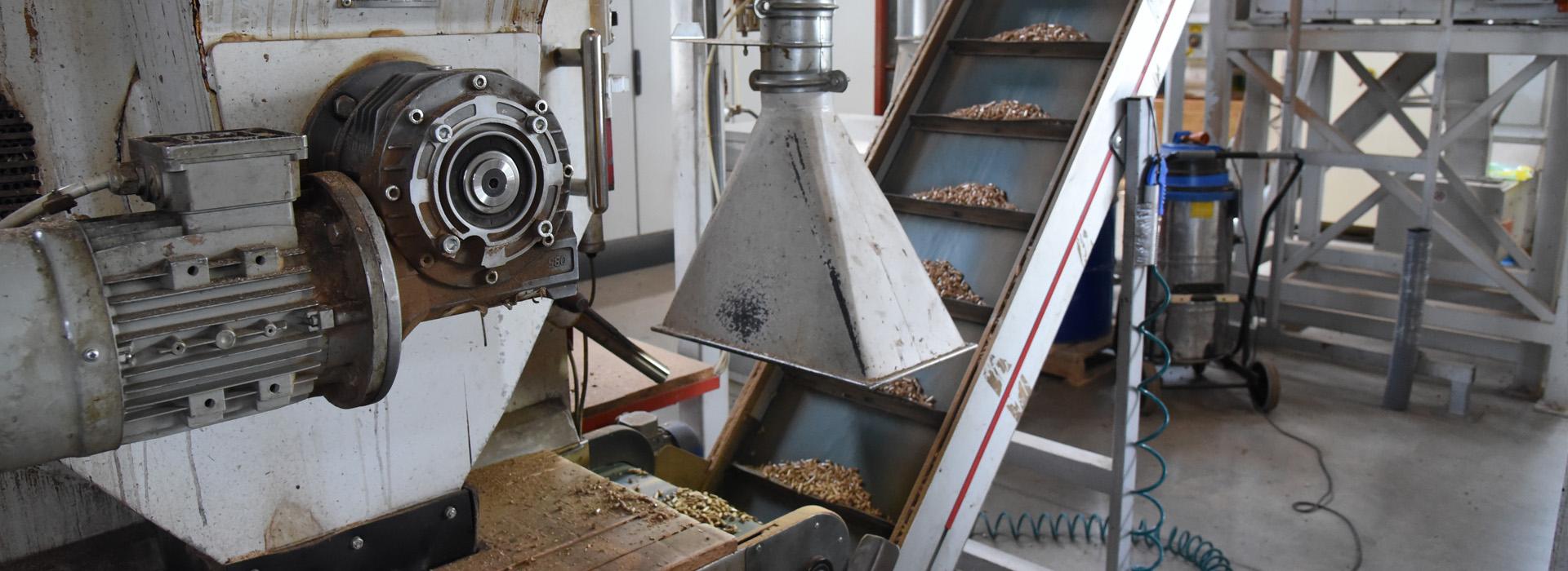 Produzione e vendita pellet certificato