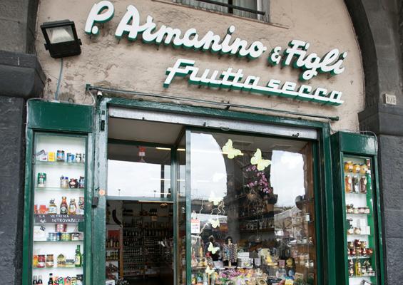 Il negozio F.lli Armanino