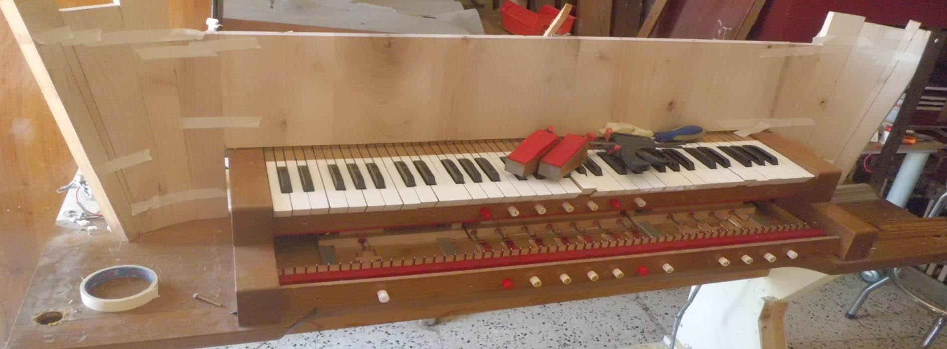 Restauro organo a Fuscaldo
