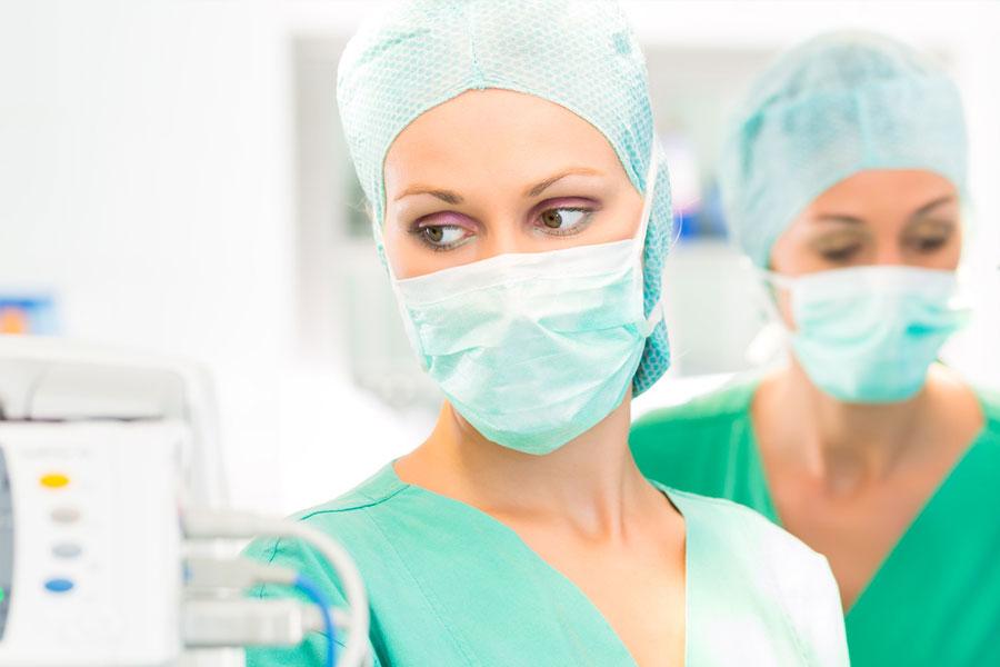 como surgical anesthesia