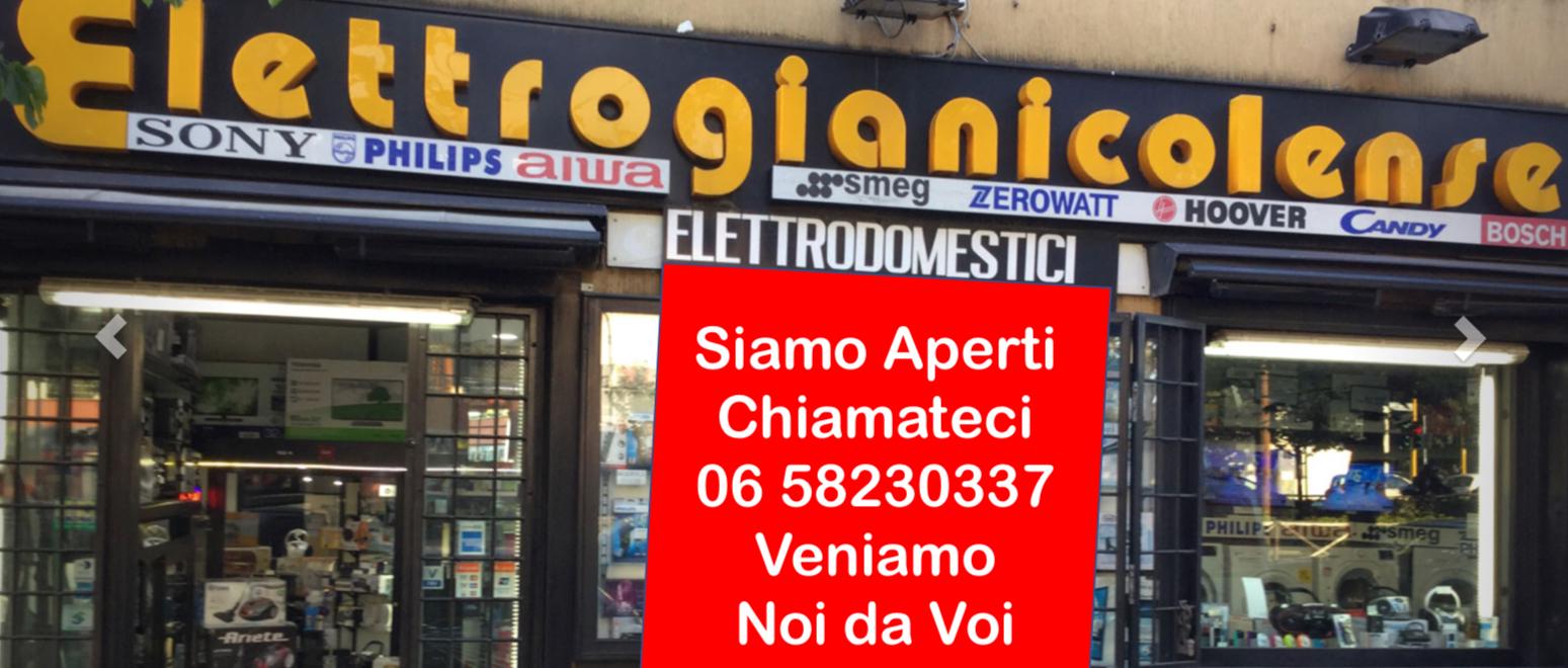 negozio elettrodomestici roma