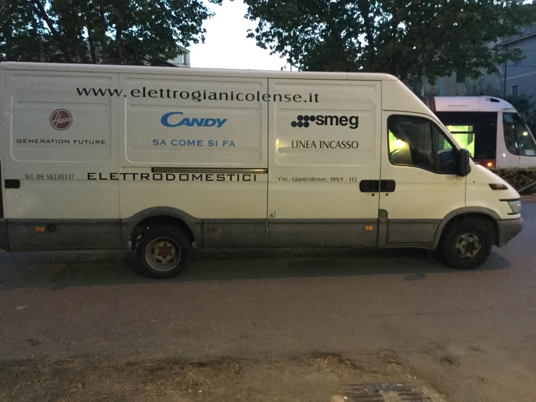 trasporto elettrodomestici roma