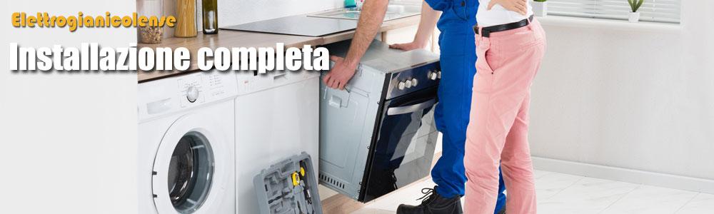 installazione elettrodomestici roma
