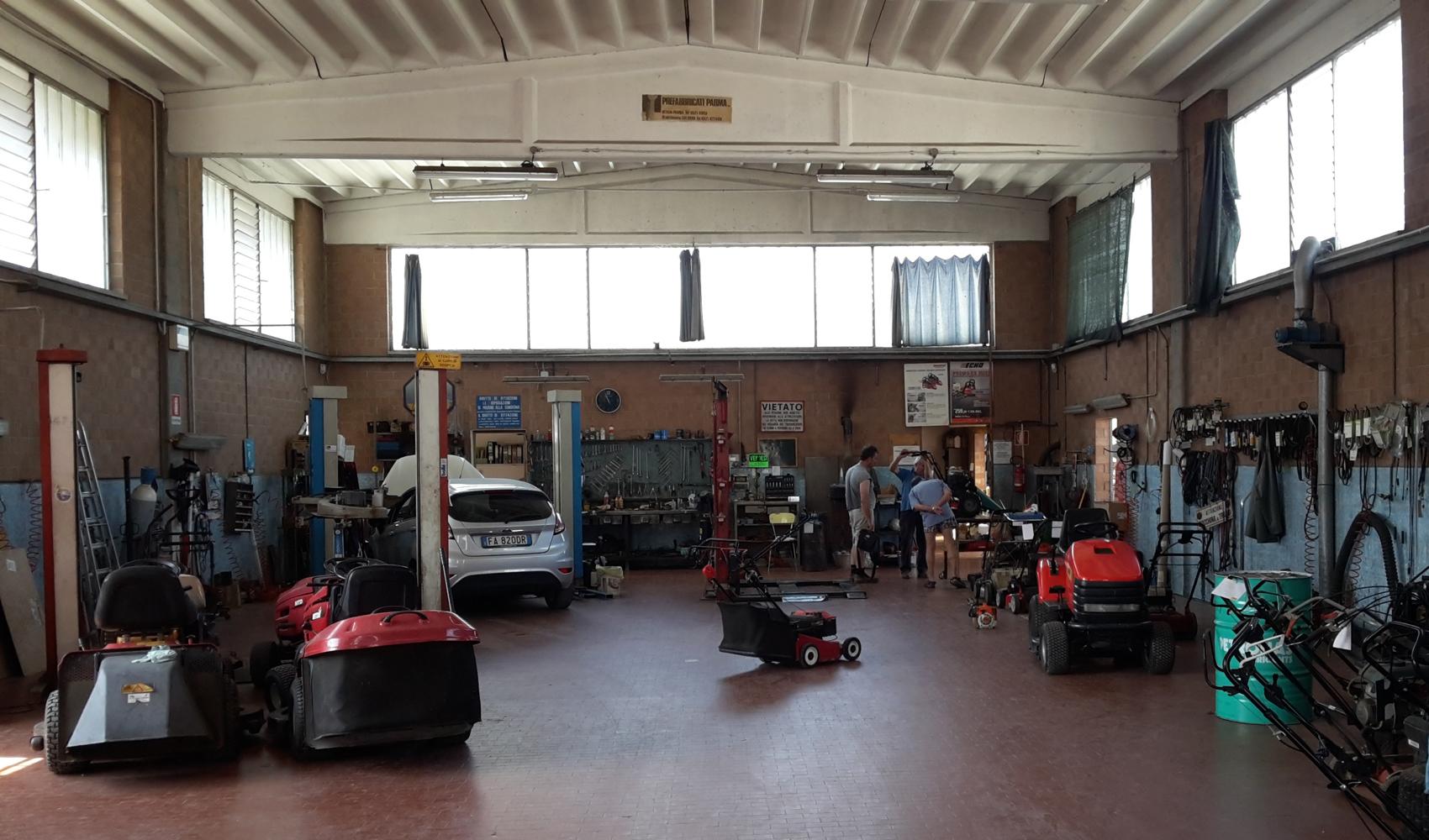 Officina Riparazione Auto e Macchine da Giardino
