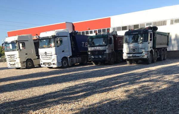 Camion Trasporto materiali inerti