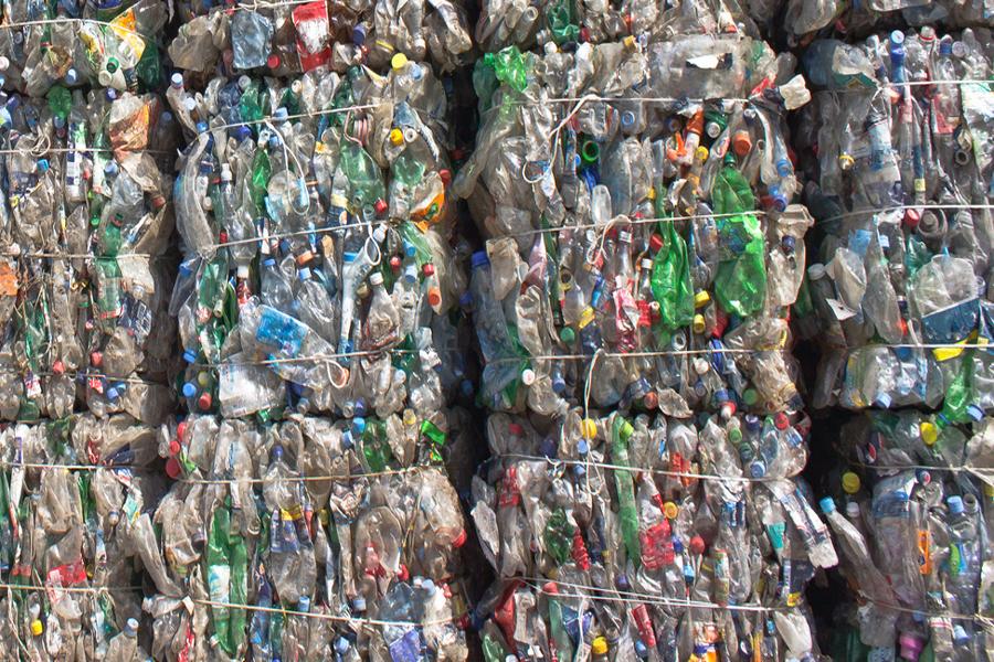 ritiro e smaltimento plastica