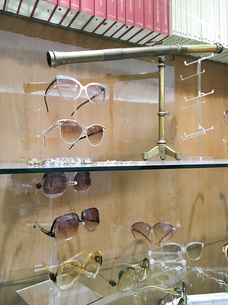 occhiali vintage roma prati