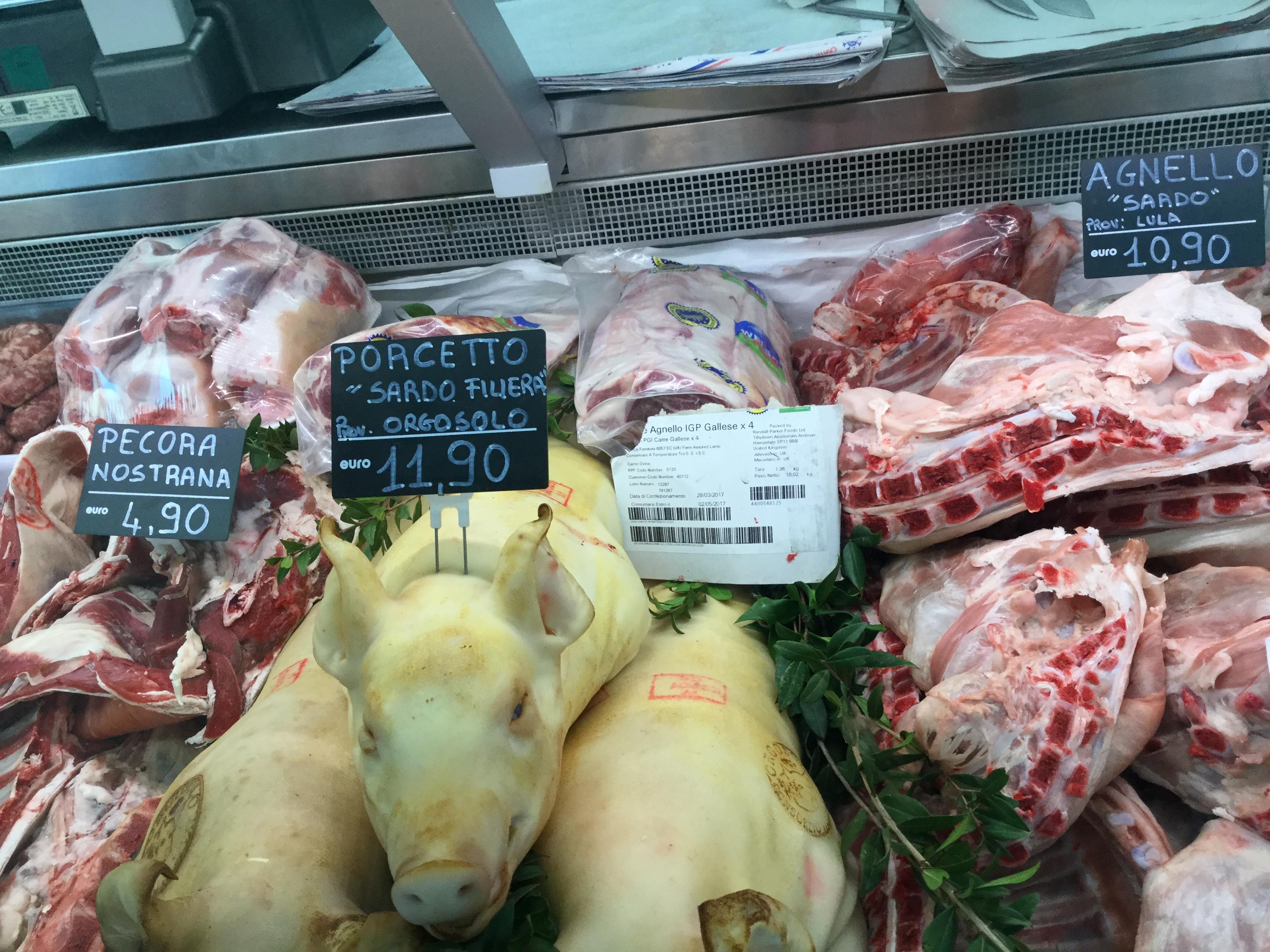 distribuzione carni Olbia