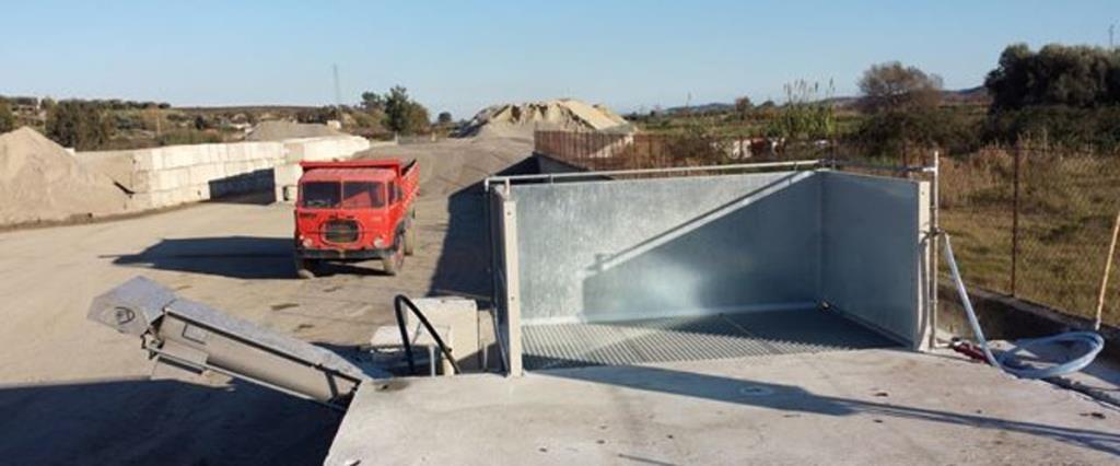 trasporto ghiaia materiali inerti