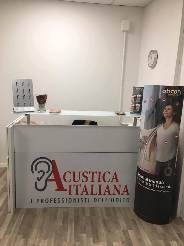 La filiale di Acustica Italiana a Vicenza