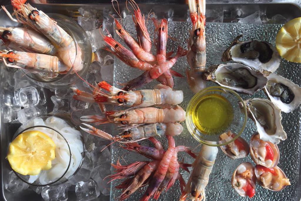 Specialità di pesce di mare
