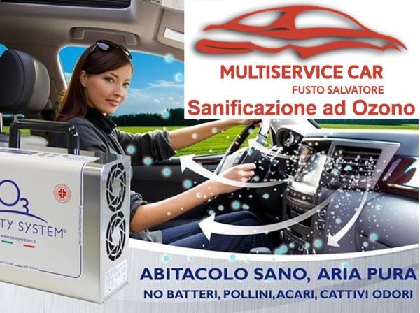 Autocarrozzeria Fusto Salvatore - Multiservice Car Fusto: Sanificazione ad Ozono