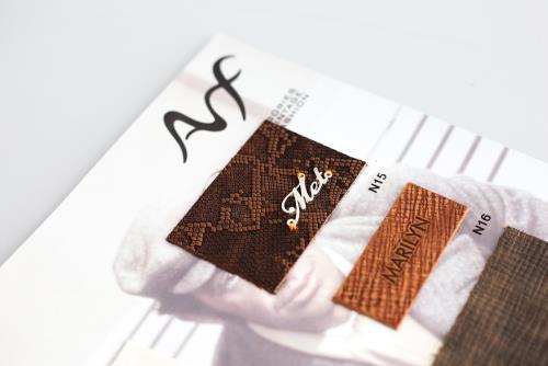 produzione etichette in tessuto