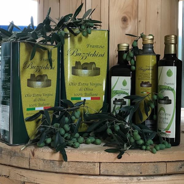 Olio Extravergine Bottiglia  Sansepolcro Arezzo