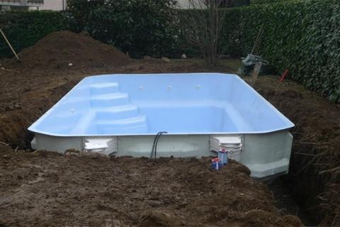 costruzione piscina como