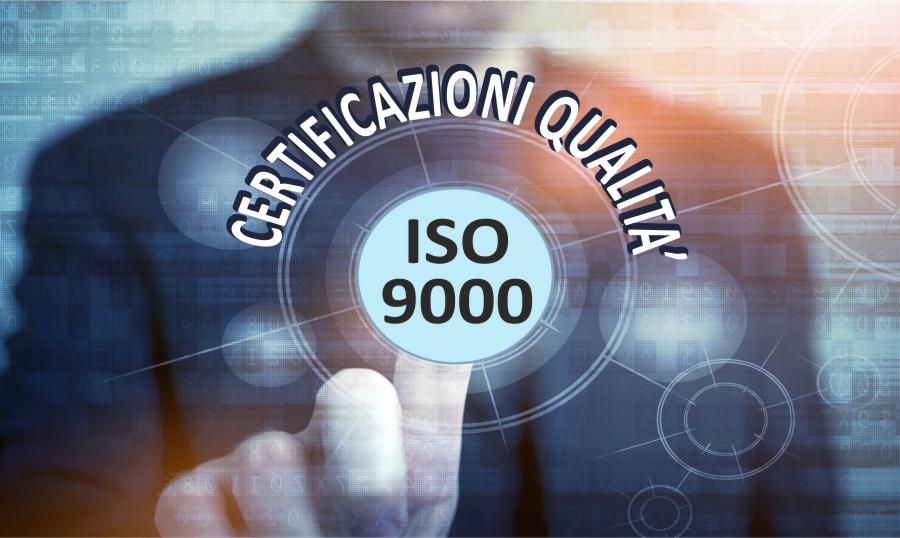 certificazioni qualità iso 9000 aziende trapani