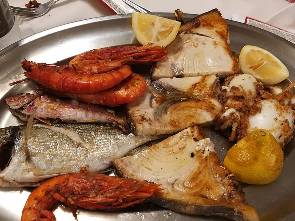 menu di pesce trattoria da pino