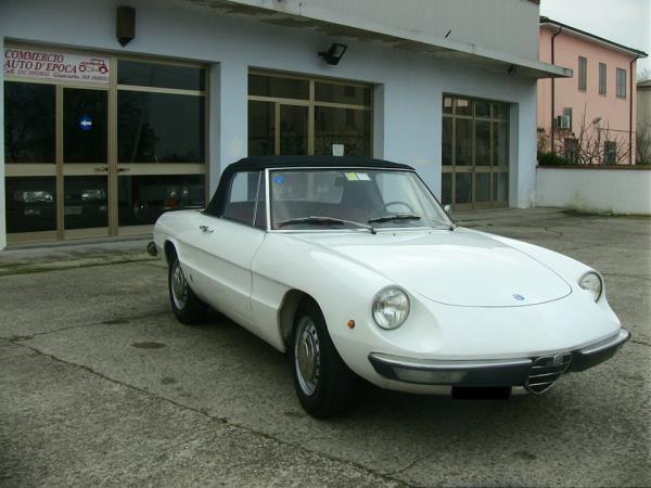 Alfa Romeo Spider a Bondeno Ferrara