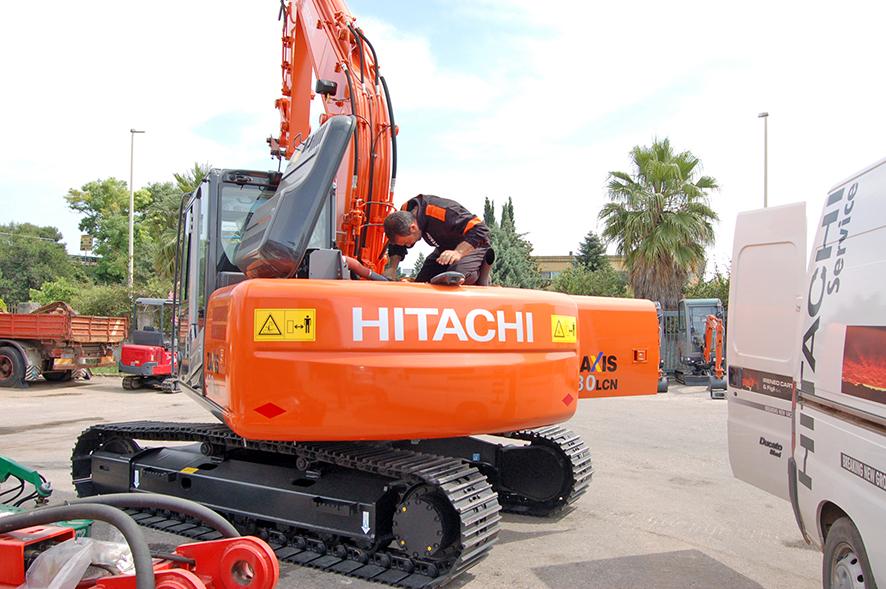 Officina meccanica specializzata in mezzi pesanti
