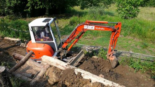 Escavazioni e lavori movimento terra a Borgo a Mozzano Lucca