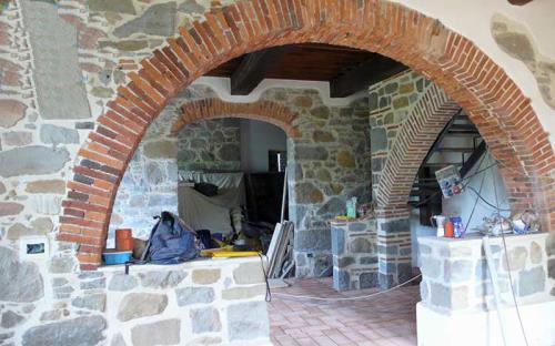 Restauro interni a Borgo a Mozzano Lucca